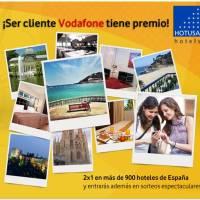 Promoción del día: 2x1 en 900 hoteles sólo por ser cliente de Vodafone